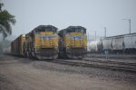 UP Engines 8351 and 8476, Des Moines IA